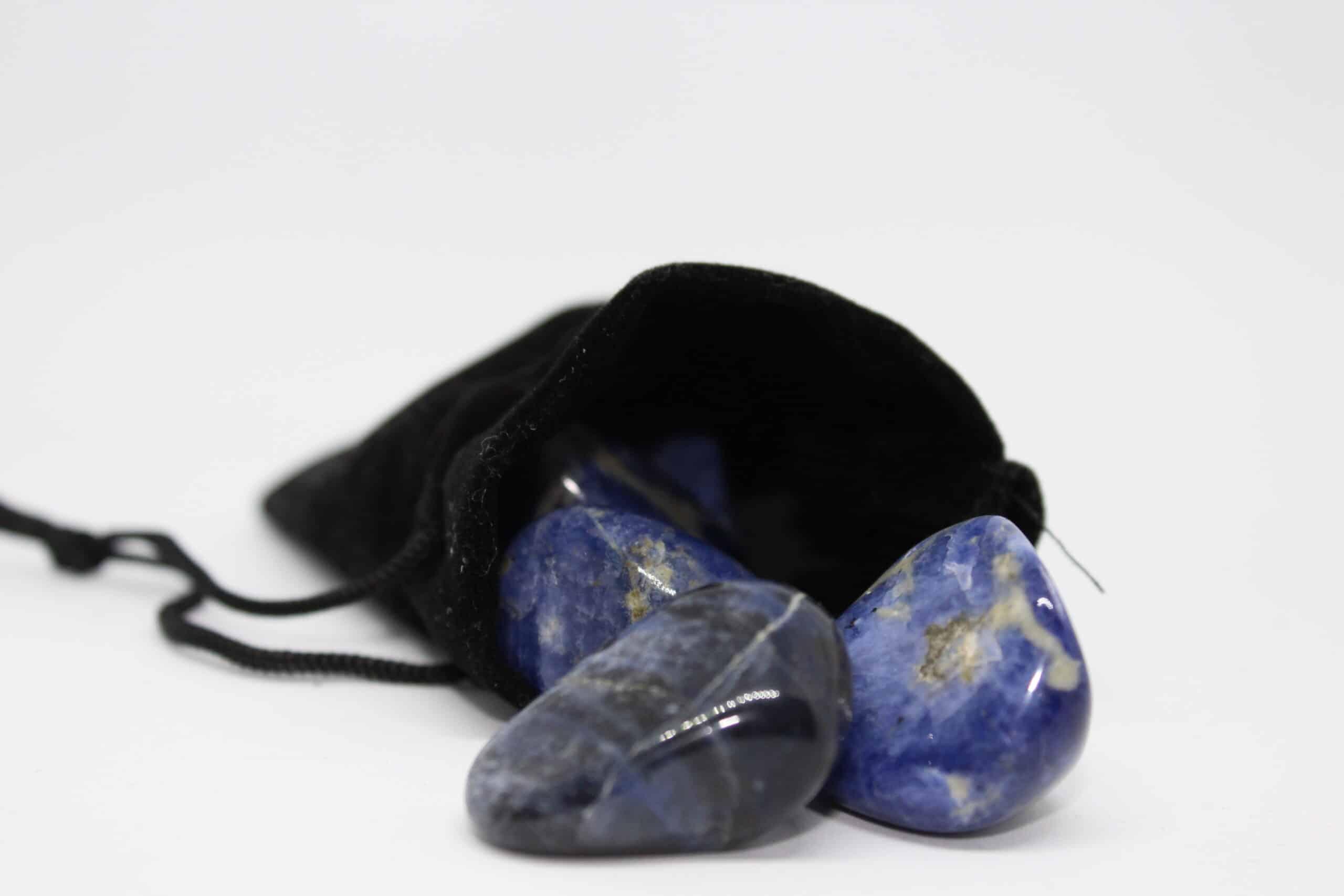 Bag of sodalite